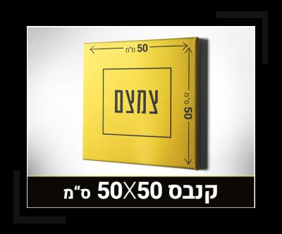 קנבס 50X50